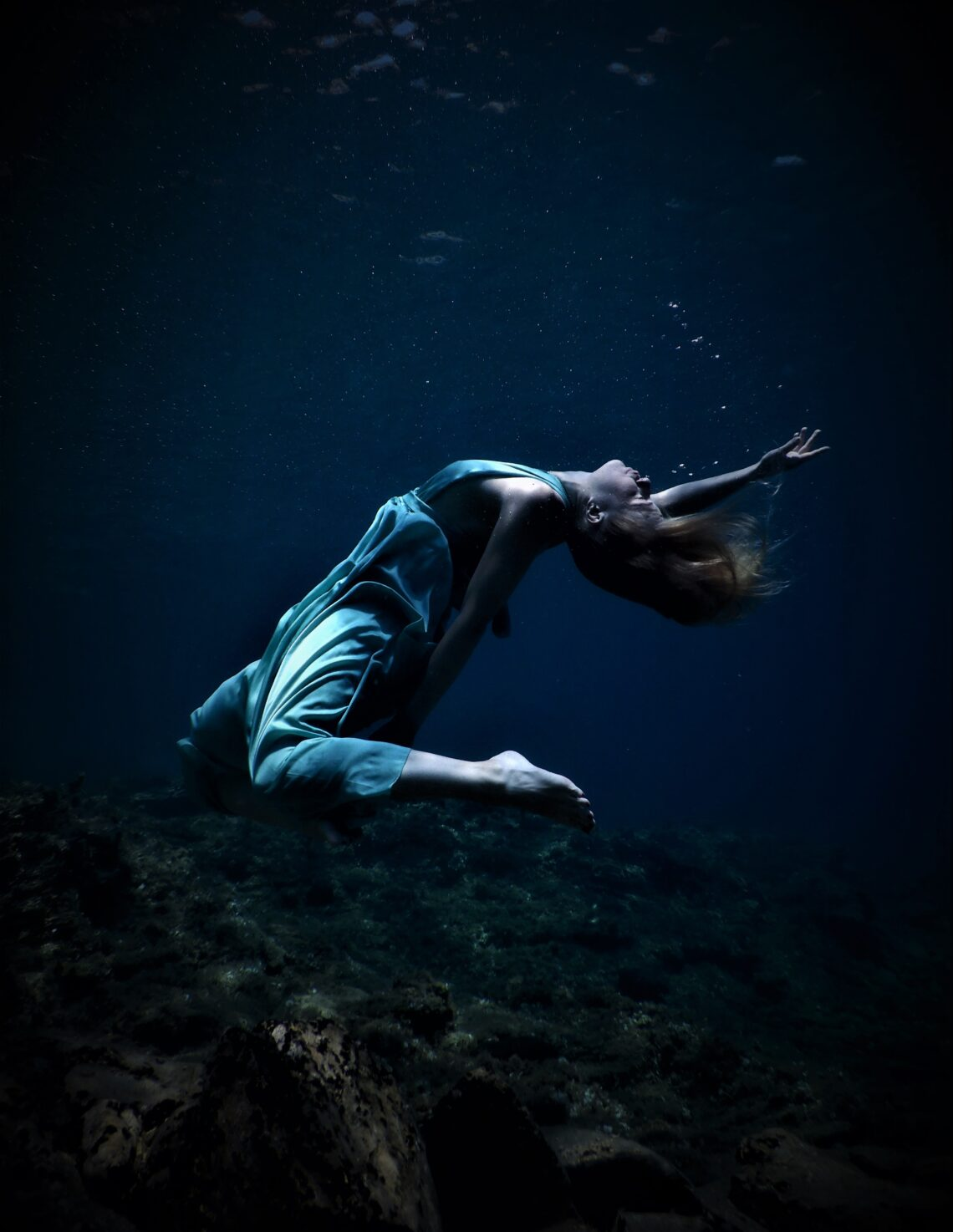 , The shape of deep freediving